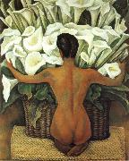 Diego Rivera Nude oil painting reproduction