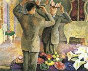 Diego Rivera Hat seller painting