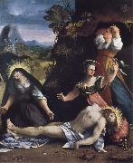 Dosso Dossi Lamentation over the Body of Christ oil painting reproduction