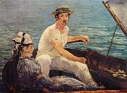 Edouard Manet Boating oil painting reproduction