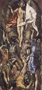 El Greco The Resurrection oil painting reproduction
