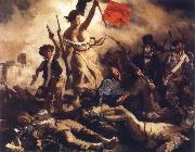 Eugene Delacroix Liberty Leading the People oil painting reproduction
