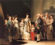 Francisco de goya y Lucientes Family of Charles IV oil painting reproduction