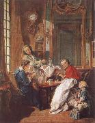 Francois Boucher An Afternoon Meal oil painting reproduction