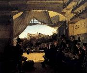 Franz Ludwig Catel Crown Prince Ludwig in the Spanish Wine Tavern in Rome oil on canvas