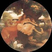 Frederick Leighton Garden of the Hesperides oil