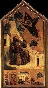 GIOTTO di Bondone Stigmatization of St Francis oil painting