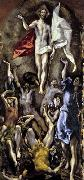 GRECO, El The Resurrection oil painting reproduction