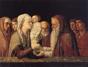 Gentile Bellini Presentation in the Temple oil painting reproduction
