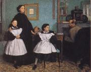 German Hilaire Edgar The Bellelli Family oil on canvas