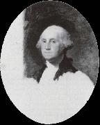 Gilbert Charles Stuart Portrait von George Washington oil on canvas