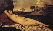 Giorgione Sleeping Venus oil painting reproduction