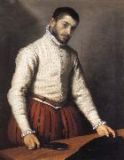 Giovanni Battista Moroni Portrait of a man oil painting reproduction