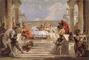 Giovanni Battista Tiepolo THe Banquet of Cleopatra oil painting reproduction