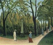 Henri Rousseau The Chopin Memorial in the Luxembourg Garden china oil painting artist