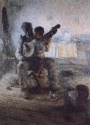 Henry Ossawa Tanner The first lesson oil on canvas
