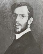 Hugh Ramsay Self-Portrait oil