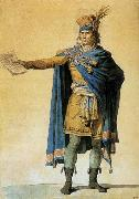 Jacques-Louis  David The Representative of the People on Duty oil on canvas