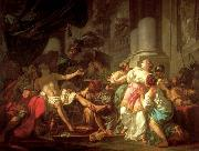 Jacques-Louis  David The Death of Seneca oil on canvas