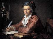 Jacques-Louis  David Portrait of Doctor Alphonse Leroy oil on canvas