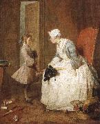 Jean Baptiste Simeon Chardin The gouvernante oil painting reproduction