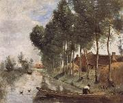 Jean Baptiste Simeon Chardin Landscape at Arleux du Nord oil painting reproduction