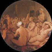 Jean-Auguste Dominique Ingres The Turkish Bath oil painting reproduction