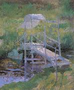 John Henry Twachtman The White Bridge oil painting reproduction