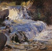 John Henry Twachtman THe Waterfall oil painting reproduction