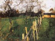 John Singer Sargent Home Fields painting