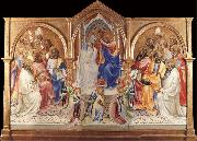 Lorenzo Monaco The Coronation of the Virgin oil painting reproduction