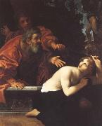 Ludovico Carracci Susannah and the Elders oil on canvas