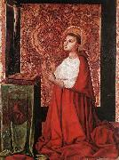 MASTER of the Avignon School Vision of Peter of Luxembourg oil on canvas