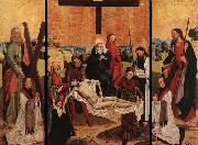MASTER of the Life of the Virgin Triptych of Canon Gerhard ter Streegen de Monte oil on canvas