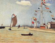 Marquet, Albert Harbour at Honfleur painting