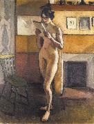 Marquet, Albert Standing Female Nude oil painting reproduction