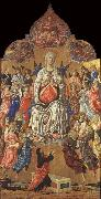 Matteo Di Giovanni The Assumption of the Virgin oil painting reproduction