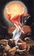 Matthias Grunewald The Resurrection,from the isenheim altarpiece oil on canvas