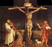 Matthias Grunewald The Crucifixion from the isenheim Altarpiece oil on canvas