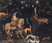 PISANELLO The Vision of Saint Eustace oil painting reproduction