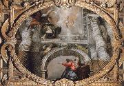 Paolo  Veronese Annunciation oil painting reproduction