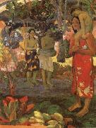Paul Gauguin The Orana Maria oil painting reproduction