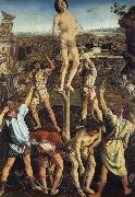 Pollaiuolo, Piero The Martydom of Saint Sebastian oil painting reproduction