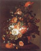 Rachel Ruysch Flower Still-Life oil
