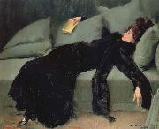 Ramon Casas i Carbo After the Ball oil