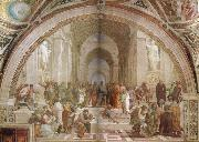 Raphael The School of Athens oil painting reproduction