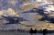 Richard Parkes Bonington On the Adriatic painting