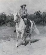 Rosa Bonheur Colonel William F.Cody oil