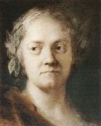 Rosalba carriera Self-Portrait oil