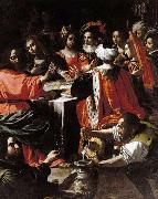 Rutilio Manetti Wedding Feast at Cana oil
